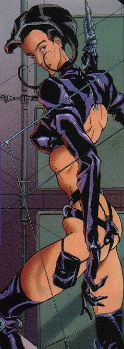 Aeon Flux image Copyright ©1995, 2004 MTV Networks