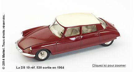 La DS 19 réf. 530 sortie en 1964