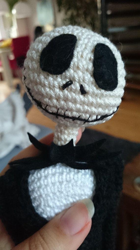 Free Crochet Pattern For Jack Skellington : Jack Skellington crochet pattern 16 inch, ready for ...
