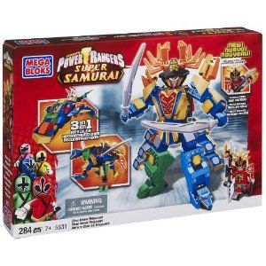 Mega Bloks Power Rangers Super Samurai Claw Armor Megazord (5831). What a cool product this turned out to be. Had fun assembling it with family !