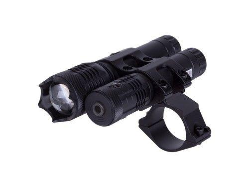 Hawke Sport Optics Tactical Combo Kit, Flashlight, Red Laser