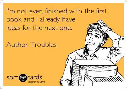 Author troubles