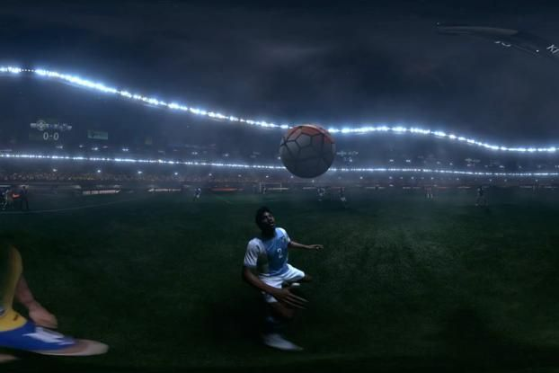 Nike Puts You in Neymar's Shoes on the Soccer Pitch With VR Experience   Creativity Online