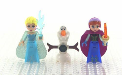 アナ雪の「氷のお城」がレゴに登場! Frozen , Anna , Elsa , Olaf , LEGO