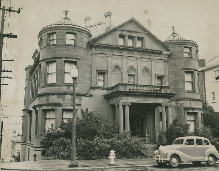 The Whittier Mansion, located on Jackson Street at Laguna Street, was once home to the Nazi consulate. Fritz Wiedemann, who was Adolf Hitler's onetime right-hand man, lived in the house until the bombing at Pearl Harbor, when he fled the country.