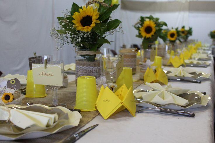 ma table de mariage <3