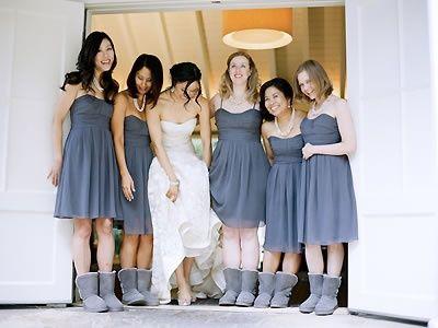 ugg wedding