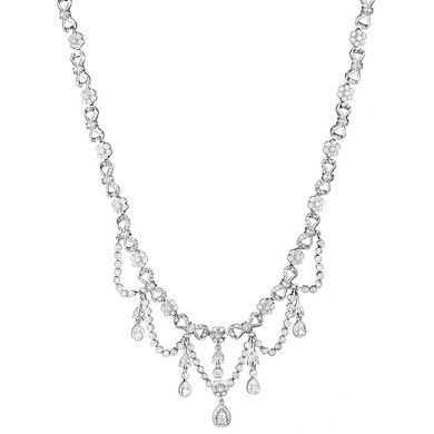 Penny Preville Marquise Shape Flower Diamond Signature Chain 6zw6LFvE03