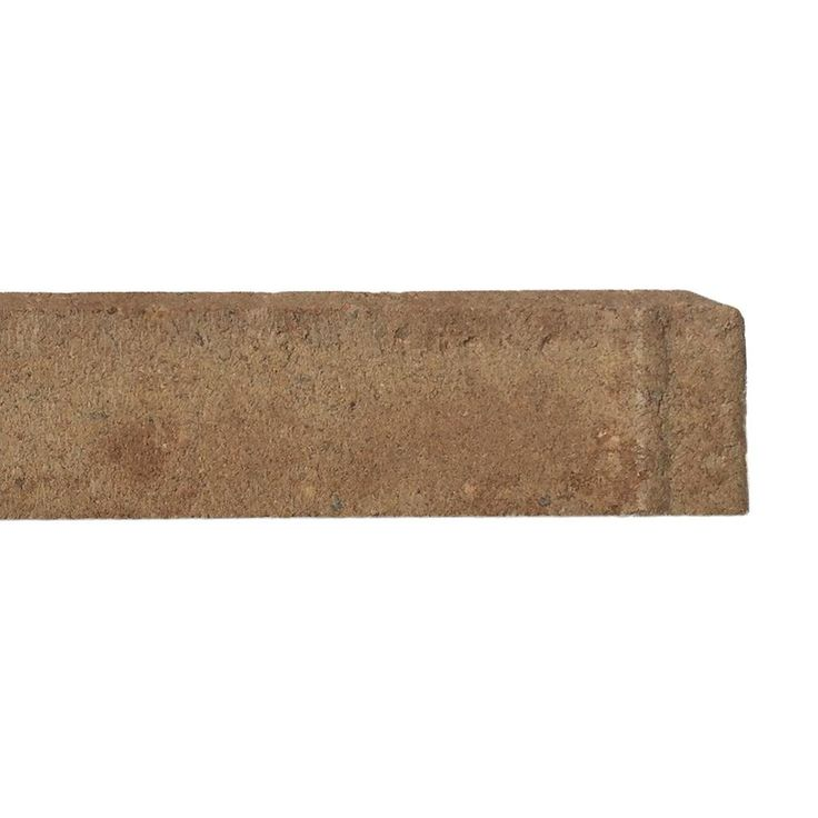 Oldcastle 4 in. x 8 in. Sandhill Tan Concrete Holland Overlay Paver