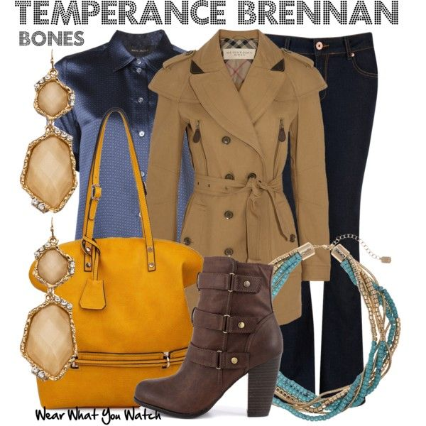 Inspired by Emily Deschanel as Temperance Brennan on Bones.                                                                                                                                                                                 More