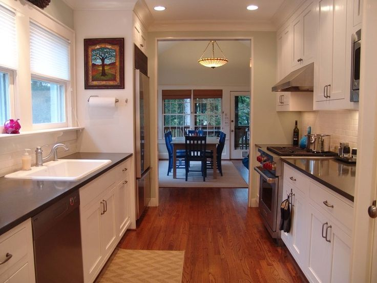 Galley Kitchen Renovation Before And After 172 best galley & eat in kitchens images on pinterest | dream