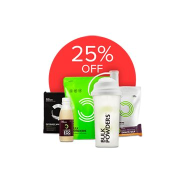 Click my link to get 25% off your first order at BULK POWDERS™, home of award-winning Sports Supplements, high quality protein and health foods.