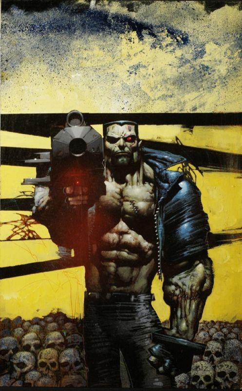 Terminatore cover Comic Art