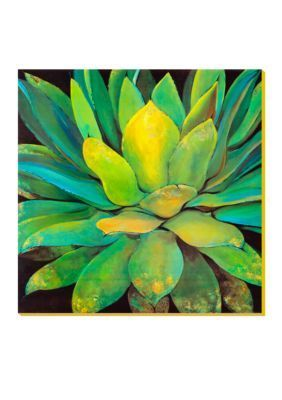 artcom agave stretched canvas print online only