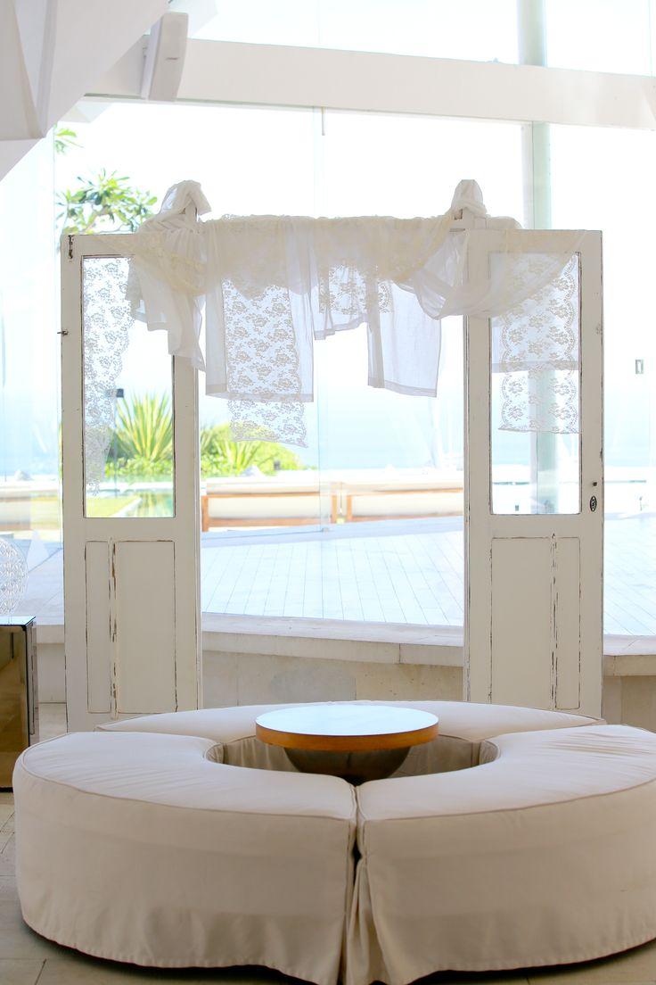Couch at Pavilion by Tirtha Bridal Uluwatu Bali