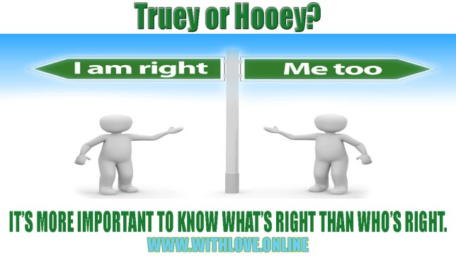 IT IS MORE IMPORTANT TO KNOW WHAT IS RIGHT RATHER THAN WHO IS RIGHT.
