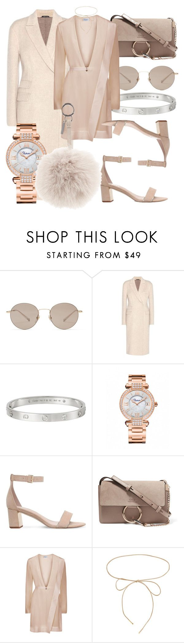 """#Look:#378"" by dollarwomanlux ❤ liked on Polyvore featuring Gucci, Maison Margiela, Cartier, Chopard, Carvela, Chloé, Lilou and Fendi"