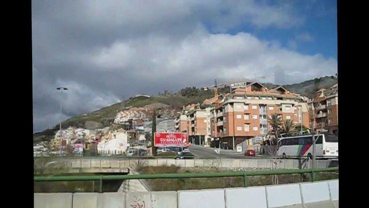 Granada con  bus turistico   2013
