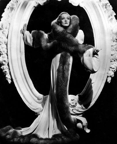Marlene Dietrich dressed by Travis Banton.
