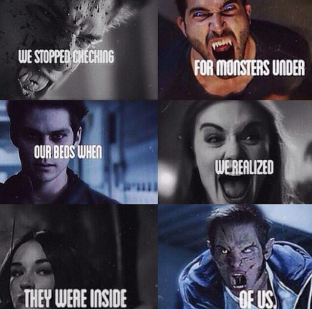 teen wolf monsters - Google Search