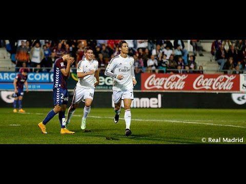 Real Madrid  Cristiano Ronaldos goals against Éibar / Los goles de Cristiano contra el Éibar