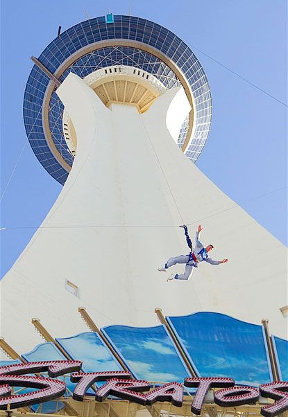 Oh yeah....I've already done all the other stuff on the Stratosphere, but this came after the last time we were in Vegas.  Next time baby, I am jumping!!