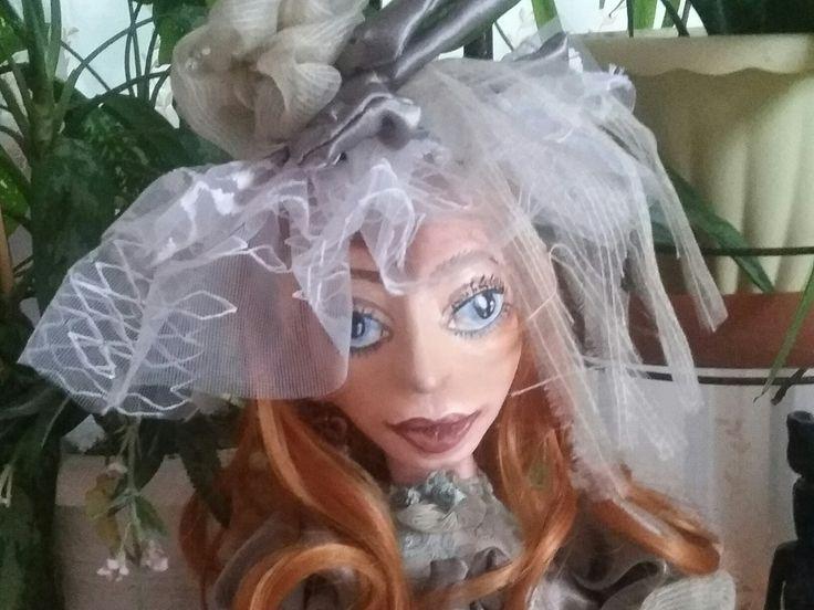 """Будуарная кукла """"Адель"""""""