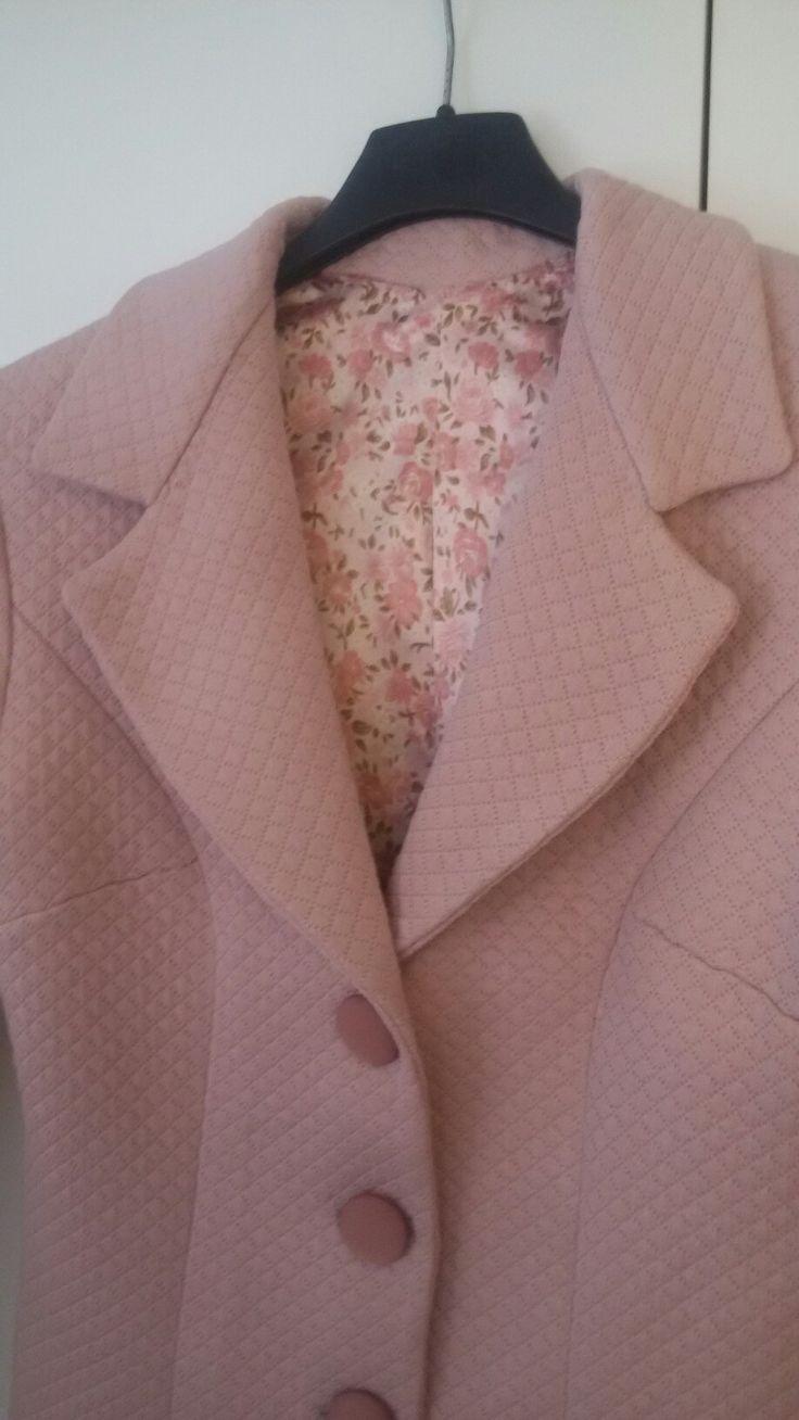 Giacca rosa antico