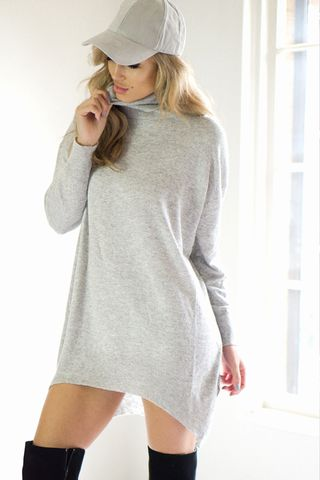 GRAYSON KNIT TOP DRESS - Stunner Boutique  - 1
