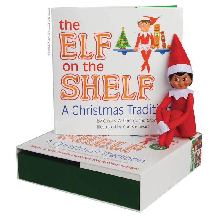 The Elf on the Shelf: A Christmas Tradition with Dark Skin Tone Girl Scout Elf,
