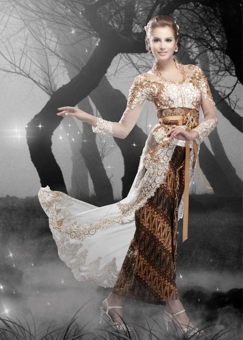 with batik