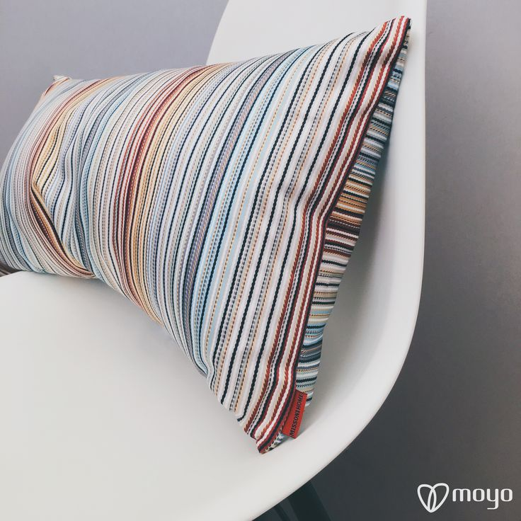 This Cushion of Missoni Home are amazing !!! So much inspiration ;)