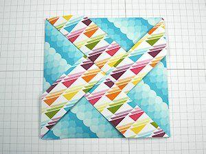 Pinwheel Fun Fold Tutorial - Splitcoaststampers