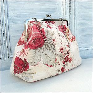 Download Vintage Style Frame Bag Sewing Pattern | Handbags & Totes | YouCanMakeThis.com
