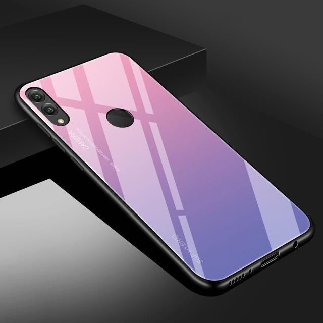 For Huawei P20 P10 Lite Pro P Smart Nova 3 3i Plus 3e Gradient Glass Cover For Huawei Mate 20 Creationsg Xiaomi Case Phone Cases