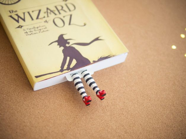 Metal – WICKED WITCH BOOKMARK. INSPIRED BY WIZARD OF OZ – a unique product by…