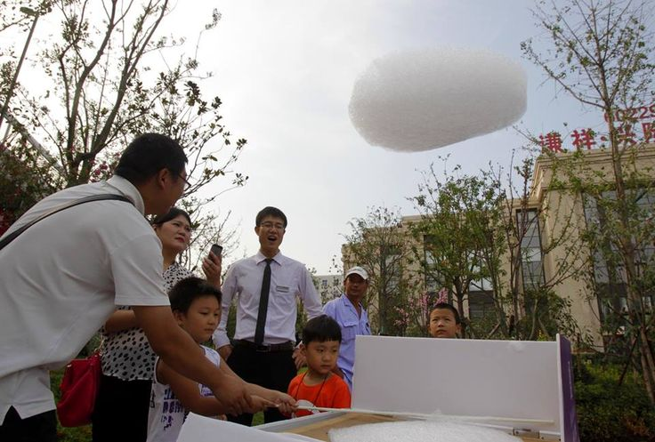 Chinese Cloud-Making Machine Makes Clouds AND Money ... see more at Inventorspot.com
