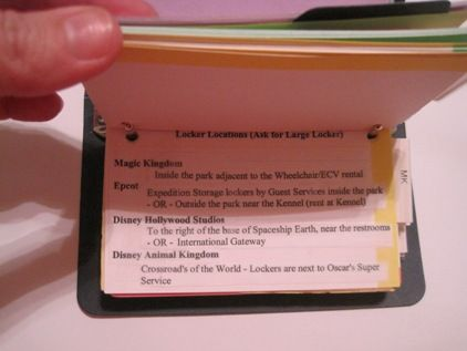 (A tiny binder for your purse, perhaps) Perfect. I love the little index card binder!!