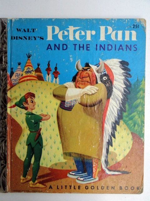 Walt Disney's Peter Pan and The Indians B by HolyCityVintage