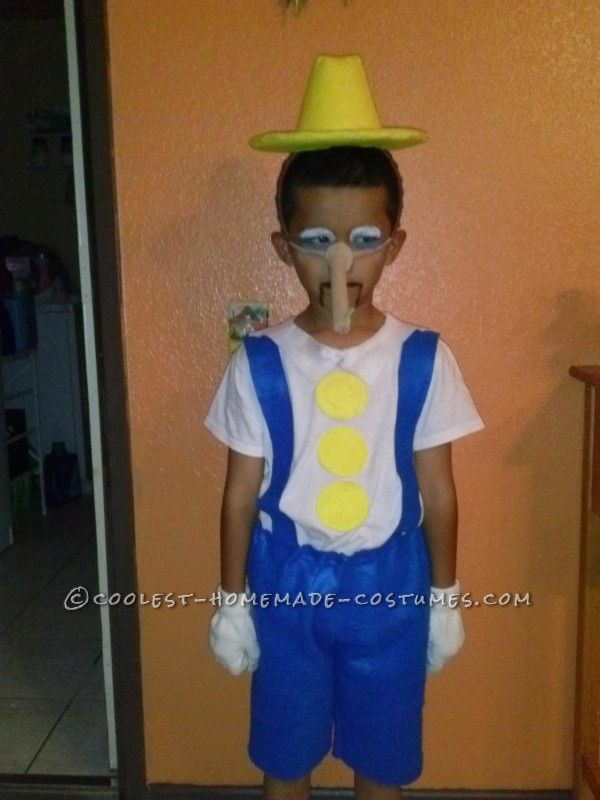 pinocchio from shrek costume cheap halloween