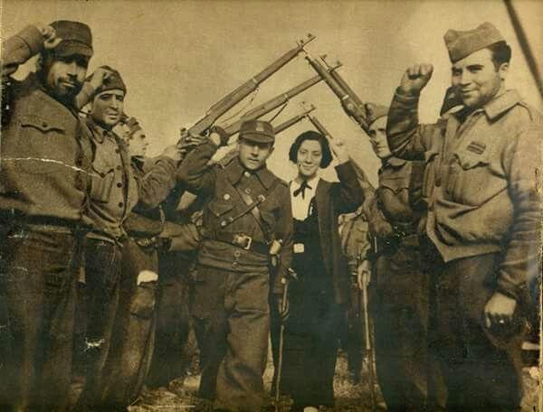 Boda en la retaguardia republicana, 1937