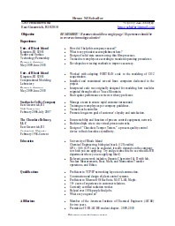 Basic Resume Template · Basic ResumeOpen OfficeResume ...