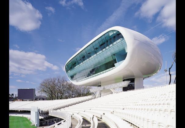 Media Centre, Lord's Cricket Ground, London by Jan Kaplicky