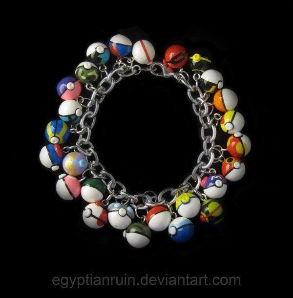 http://egyptianruin.deviantart.com/art/26-Pokeball-Charm-Bracelet-363893839