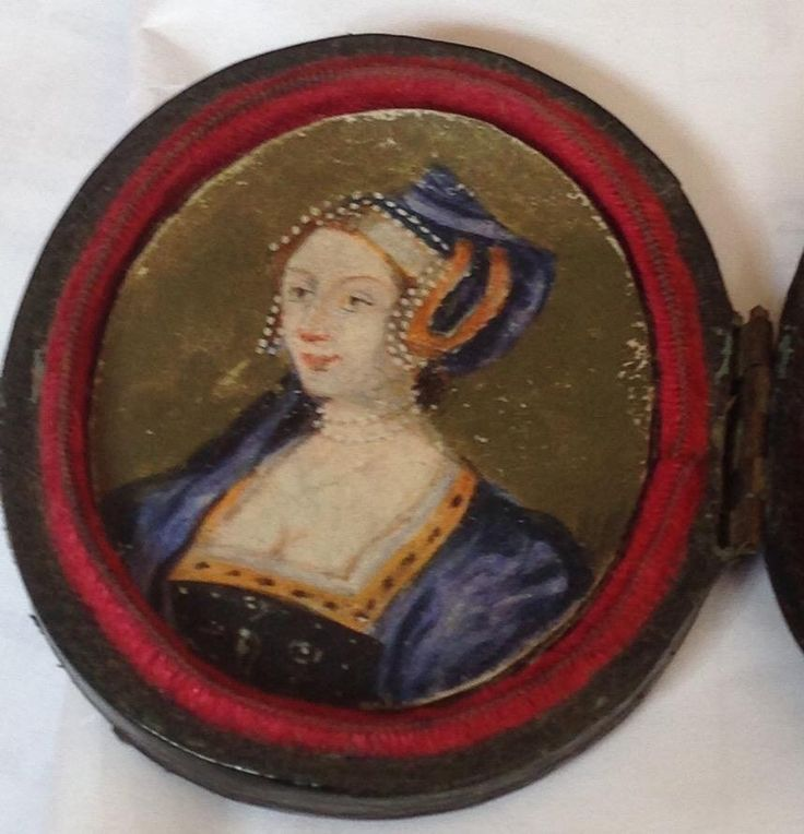 """Some of you may remember how opposed I was to the """"new portrait of Anne Boleyn"""" that surfaced a few months back. A new miniature portrait was brought to my attention via Facebook today, and I wanted to tell you why I think this one actually could be..."""
