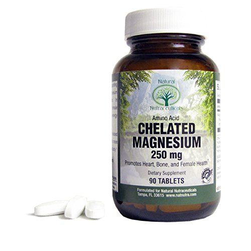 Natural Nutra Chelated Magnesium Oxide Supplement, 250 mg, 90 Tablets >>> Click image for more details.
