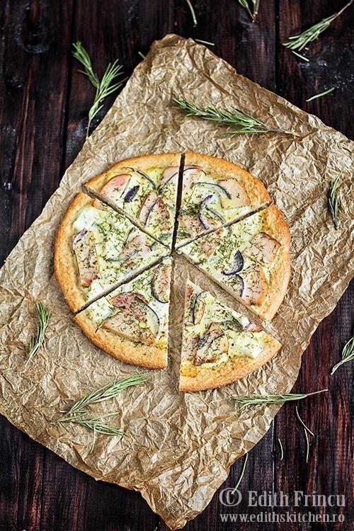 pizza dukan cu pui