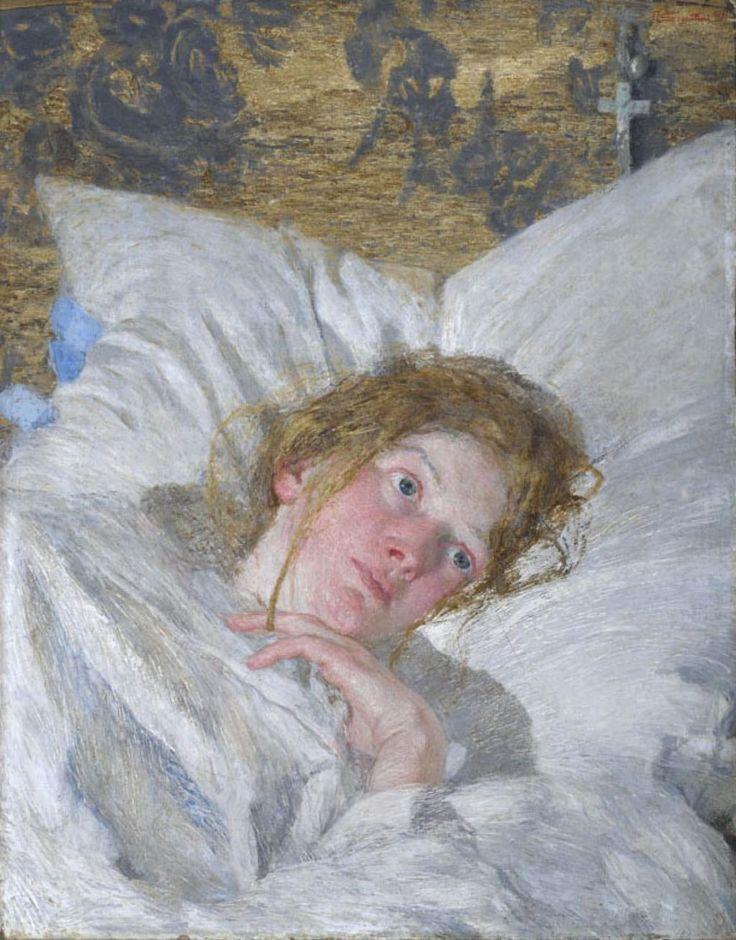 Giovanni Segantini(1858ー1899)(1889-90)