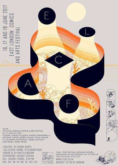 Icinori Abstract Poster Design