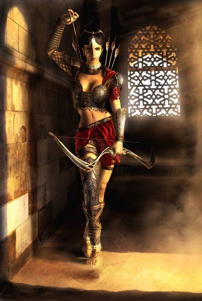 Prince of Persia: The Two Thrones: Princess Farah